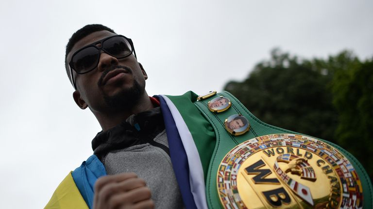 Badou Jack has vacated his WBC super-middleweight belt