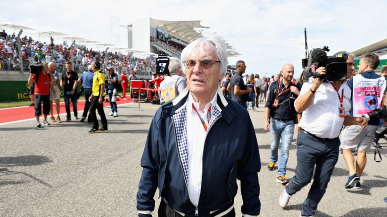 Bernie Ecclestone has been replaced as chief executive of Formula 1