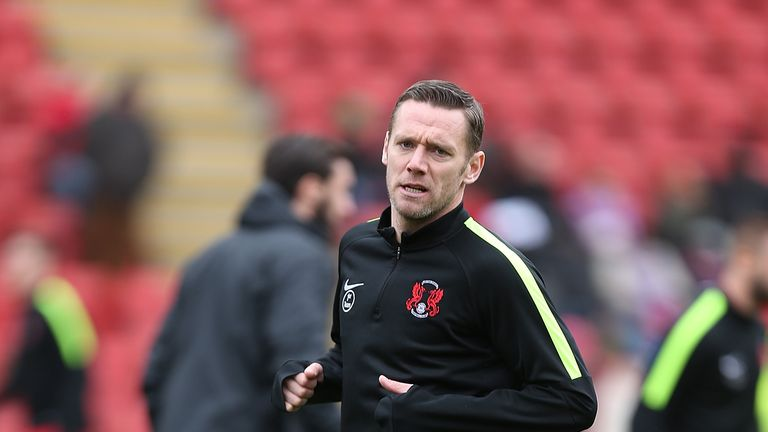 Nolan was player-manager at Leyton Orient for 15 games last season