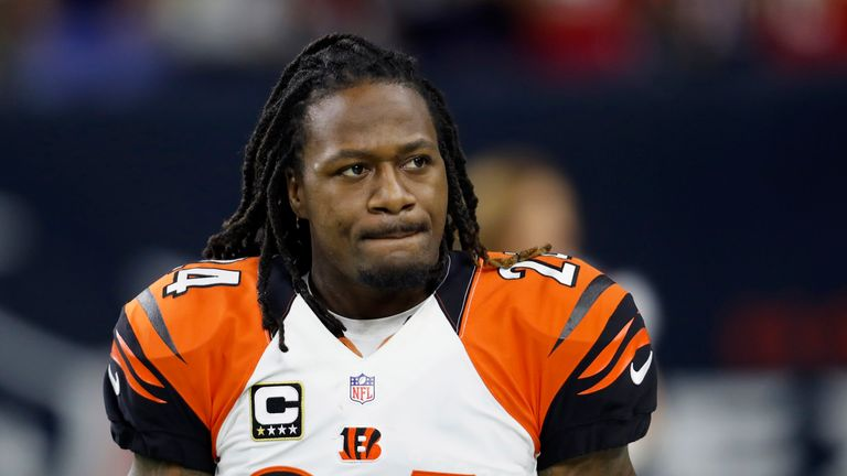 Adam Jones spent much of his career with the Cincinnati Bengals