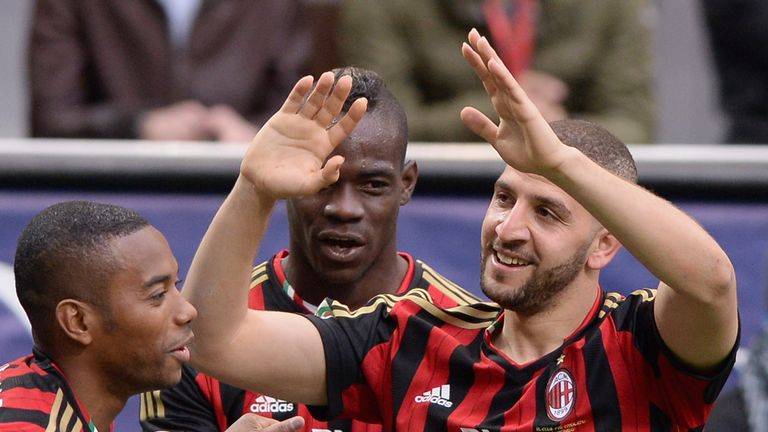 Taarabt made a goalscoring debut for Milan and finished his six-month loan spell from QPR with four goals in 14 matches