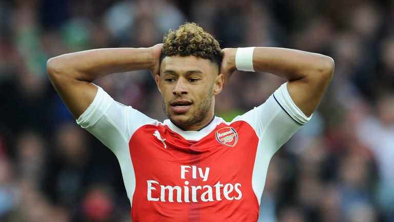Alex Oxlade-Chamberlain is out of contract at Arsenal next summer
