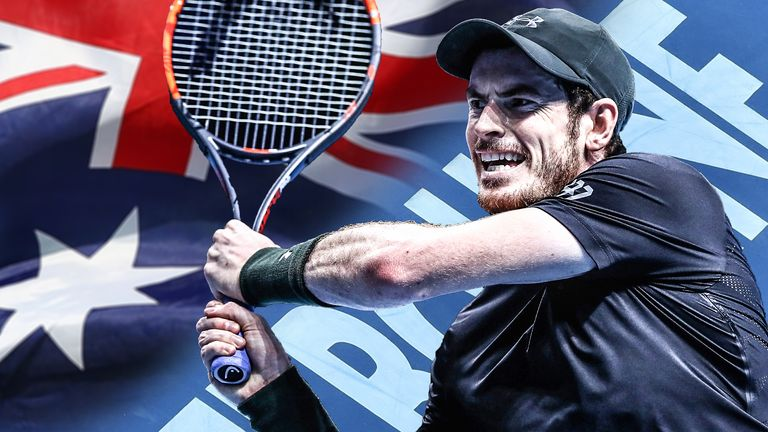 How Andy Murray has fared at the Australian Open in Melbourne