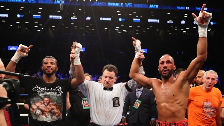 Badou Jack and James DeGale were both kings of New York