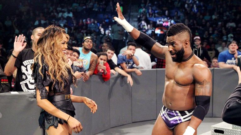 Cedric Alexander is through with Alicia Fox
