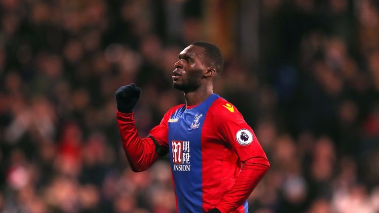Christian Benteke netted in the 2-0 win at Bournemouth