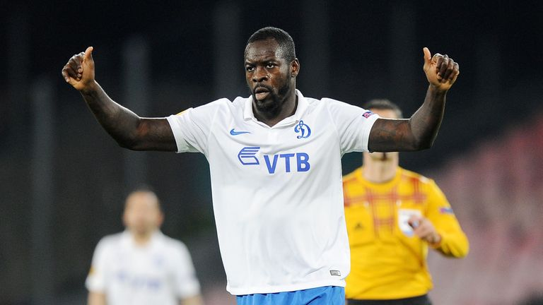 Christopher Samba is hoping to win a short-term deal with Aston Villa