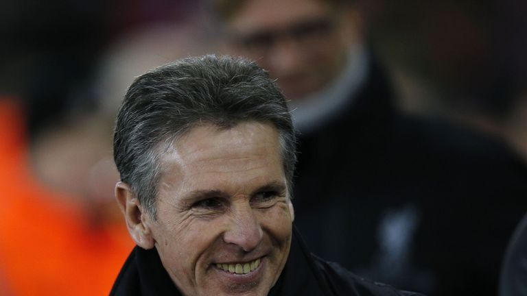 Claude Puel was thrilled with his side's performance in the EFL Cup win over Liverpool