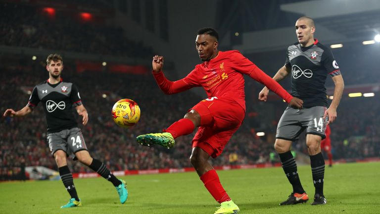 Daniel Sturridge may not fit Liverpool's system but has had success with England