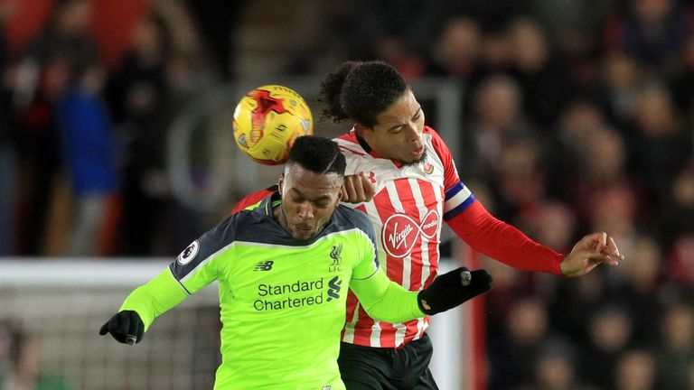 Van Dijk kept Daniel Sturridge at bay on Wednesday night