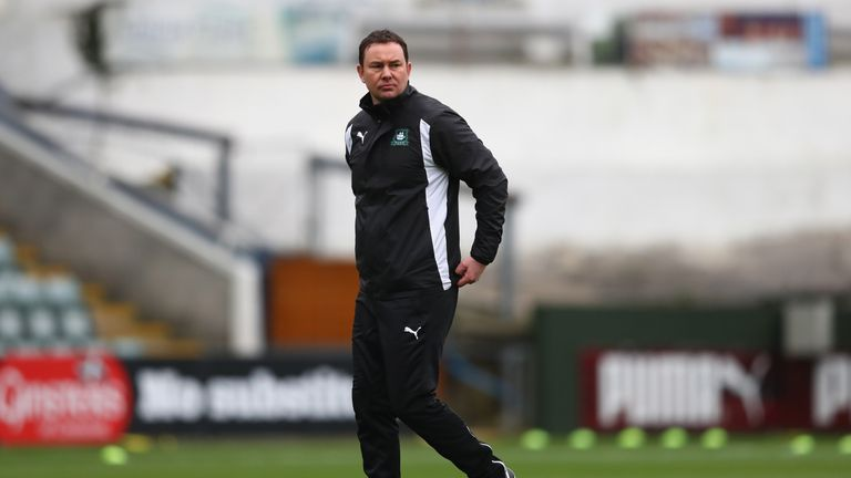 Matty Kennedy a doubt for Plymouth manager Derek Adams.