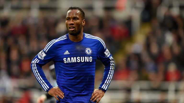 Drogba is one of Chelsea's all-time great strikers