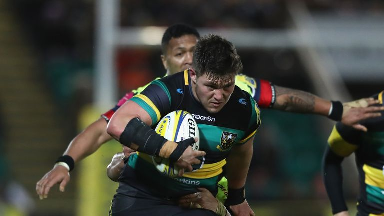 Northampton prop Ethan Waller is heading to Worcester