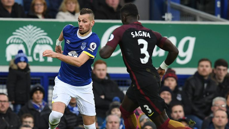 Morgan Schneiderlin has settled in well at Everton
