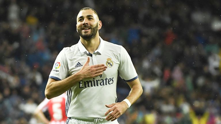 Karim Benzema scored in Real's win over Athletic Bilbao earlier this season - but their recent record at San Mames is not so good