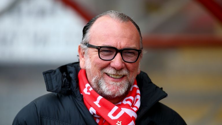 Nigel Travis replaced Francesco Becchetti (above) as owner of Orient in the summer