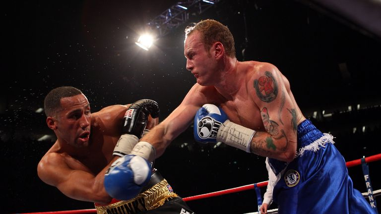 James DeGale suffered his first loss in a shock defeat to bitter rival George Groves