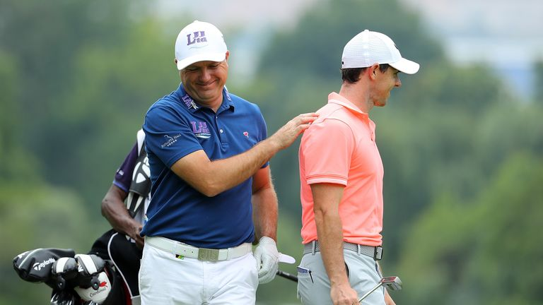 Graeme Storm started the year with a thrilling win over McIlroy in South Africa