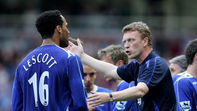 David Moyes said Lescott was not 'in the right frame of mind' to play for Everton after handing in a transfer request