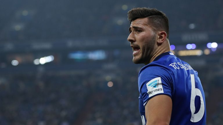 Sead Kolasinac is wanted by Manchester City, Everton and Arsenal
