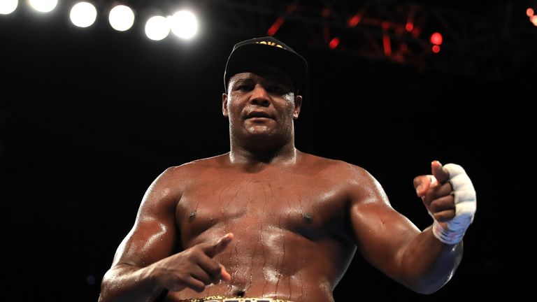 Luis Ortiz is Anthony Joshua's WBA mandatory challenger