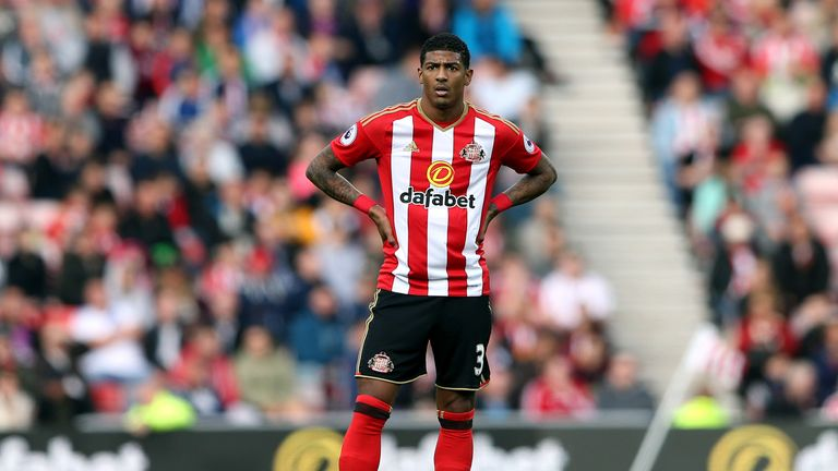 Sunderland sold Patrick van Aanholt to Crystal Palace in January last year