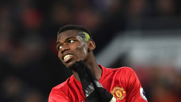 Paul Pogba handed Liverpool their penalty on Sunday in an abject display at Old Trafford