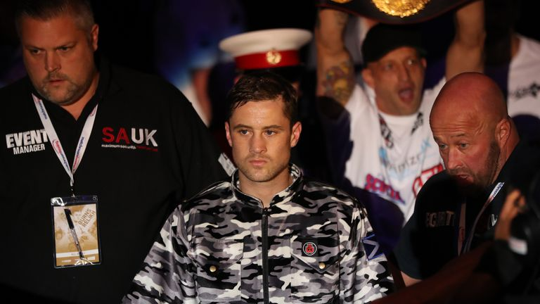Burns has held world titles in three weight divisions