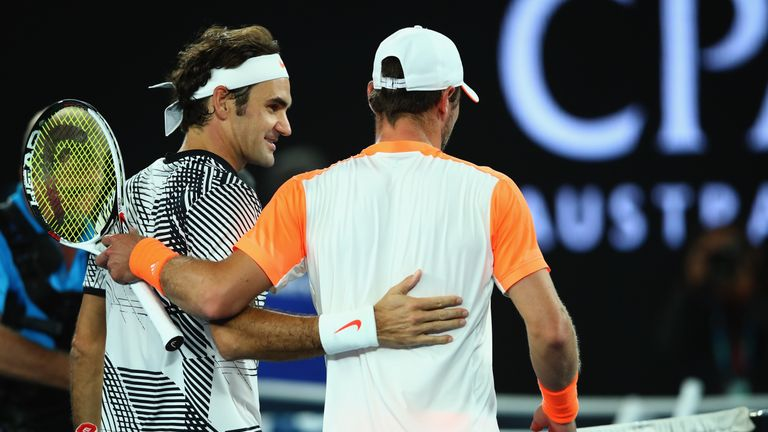 Mischa Zverev's run at the Australian Open is over after running into a sublime Federer