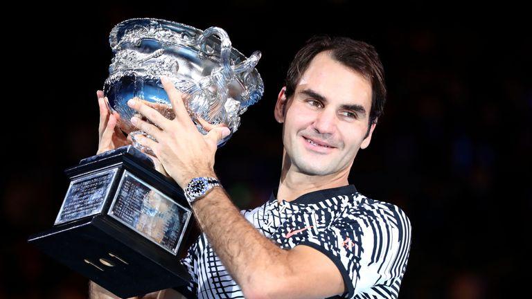 Federer won his fifth Australian Open title in 2017