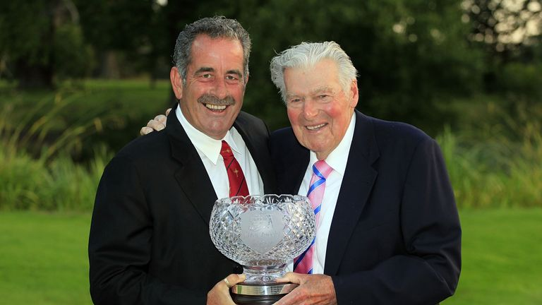 The John Jacobs Trophy is awarded to the winner of the European Senior Tour Order of Merit