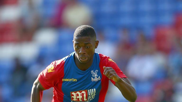 Sullay Kaikai joined Brentford on a season-long loan from Crystal Palace