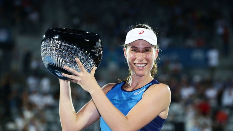 Johanna Konta beats Agnieszka Radwanska to win WTA Apia International in Sydney | Tennis News |