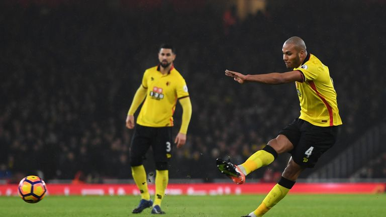 Younes Kaboul opened the scoring for Watford