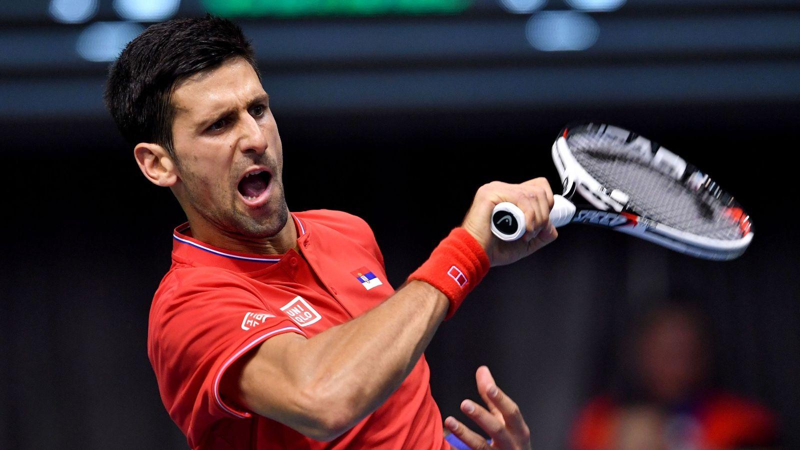 Novak Djokovic Splits With Entire Coaching Team Tennis
