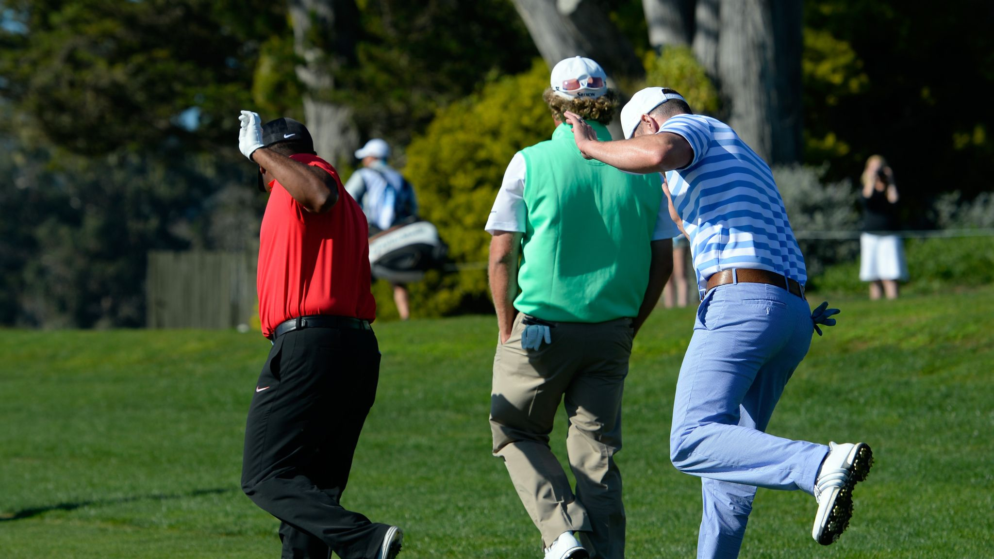 Justin Timberlake's near ace from 2017 AT&T Pebble Beach Pro
