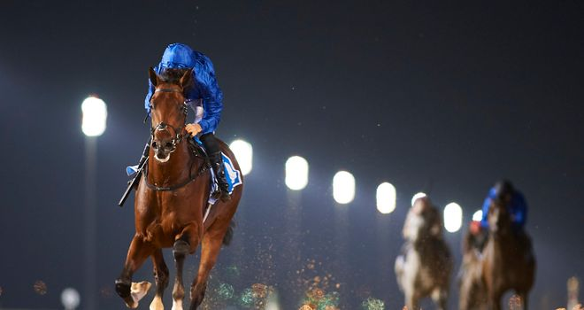 Thunder Snow will go straight to the UAE Derby (Credit: Dubai Racing Club//Andrew Watkins)