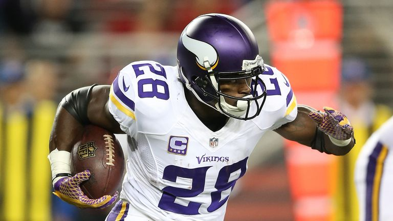 Adrian Peterson has left the Vikings to join the New Orleans