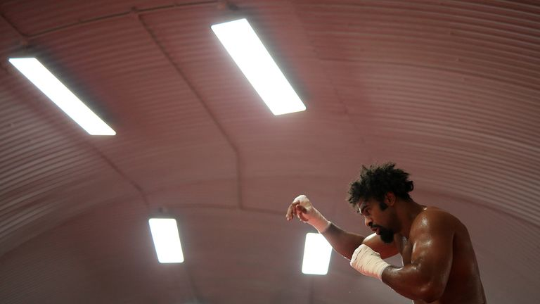 Haye says he is in the best shape of his life ahead of his clash against Bellew
