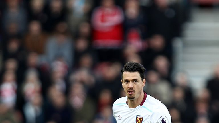 Jose Fonte playing against former club Southampton earlier this month