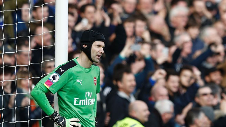 Petr Cech was voted the world's best goalkeeper when he was at Chelsea but his form has fluctuated since he moved to Arsenal