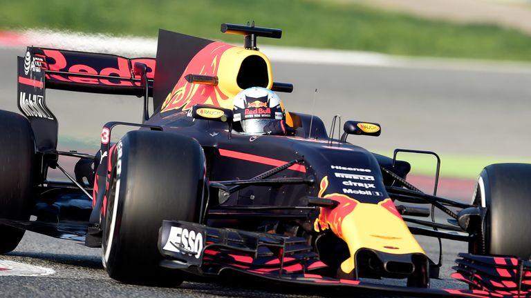 Horner's Red Bull team is also utilising a shark fin design