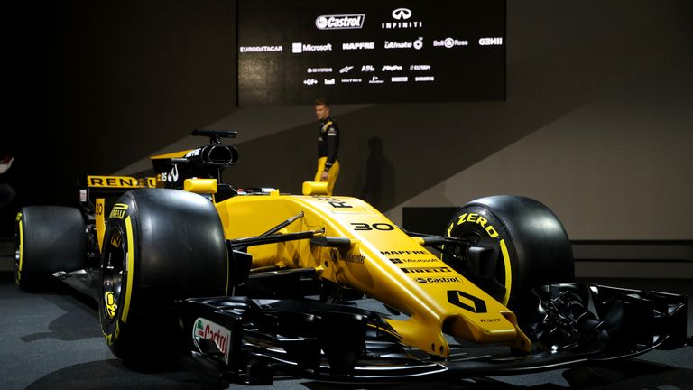 renault launch 2017 car the rs17 ahead of new formula 1 season f1 news. Black Bedroom Furniture Sets. Home Design Ideas