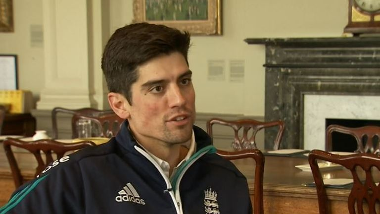 Alastair Cook spoke to Nasser Hussain at Lord's on Tuesday