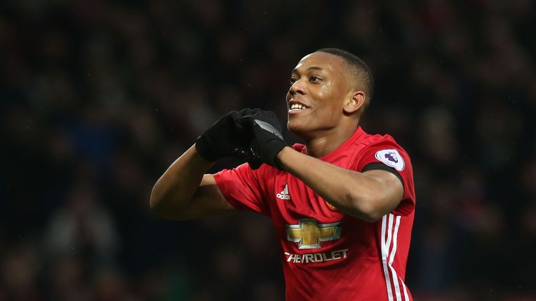 Anthony Martial says he would love to score against old rivals St Etienne on Thursday