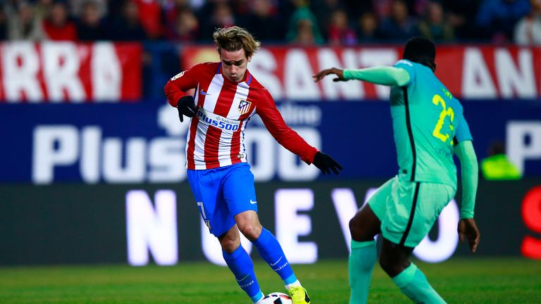 Antoine Griezmann's first-leg strike has given Atletico hope