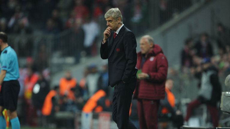 Wenger's position at Arsenal has come under more scrutiny following the 5-1 defeat by Bayern Munich