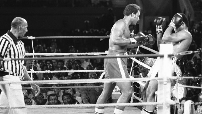 Rope-a-dope is now etched in boxing folklore