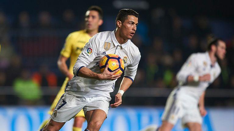 Cristiano Ronaldo now has 100 Champions League goals to his name