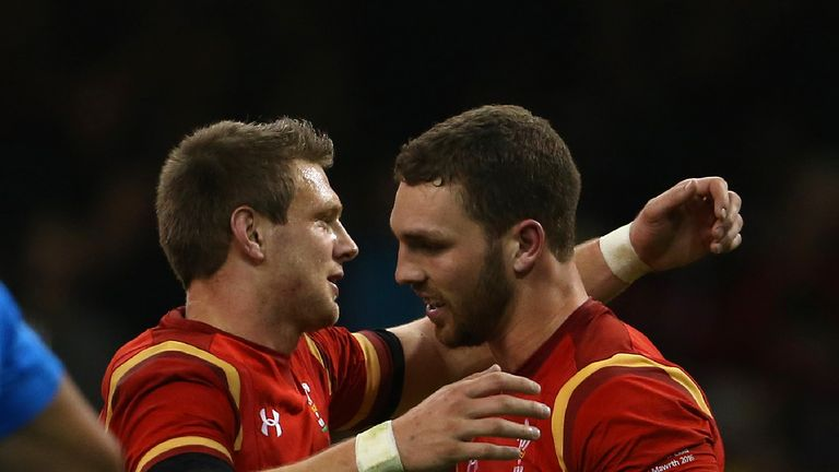 Biggar (left) and North both started agaisnt Italy last week